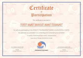 Conference Certificate Of Attendance Template My Best Templates