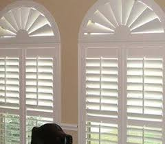 arched window treatments. Bella View: Trademark Custom Composite Wood Arch Arched Window Treatments M