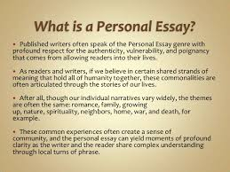 personal essay profile essay sample narrative essay examples for personal writing power point