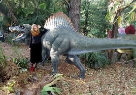 fibreglass dinosaur garden sculpture