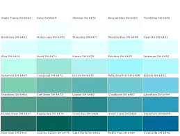 Shades Of Blue Paint Color Chart Teal Paint Colors Color Chart 9 Best Lohuo Club