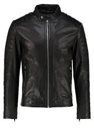 men jackets reiss native leather jacket black reiss jackets reiss