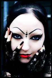 gothic makeup image