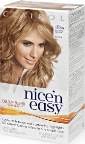 Clairol Nice N Easy Hair Color Chart