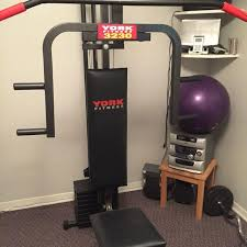 york gym equipment. york fitness 3230 complete excercise gym! gym equipment