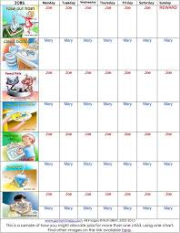 Autism Chore Chart Visual Schedules For Aspergers Kids Aspergers Autism