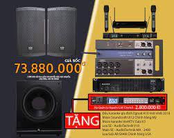 Bộ Dàn Karaoke Gia Đình Đẳng Cấp 70 Triệu