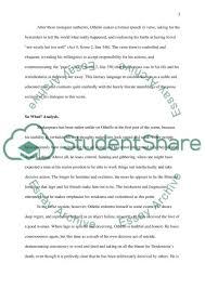 character analysis in othello book report review character analysis in othello essay example