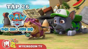 ĐỘI CHÓ CỨU HỘ PAW PATROL MINI   Tập 26: Rocky Tự Cứu Mình   Phim hoạt hình  - Foci cung cấp thông tin về các loại thú cưng - Foci -