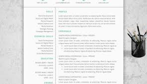 Creative Resume Design Templates Creative Resume Formats Logiciel