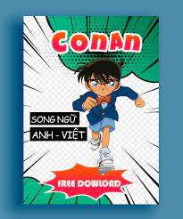 Conan song ngữ Anh Việt | Bộ truyện song ngữ Conan