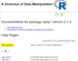 Devtools::document Index Page - Package development - RStudio Community
