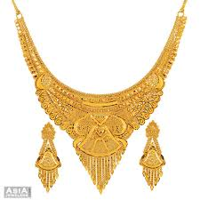 anjali jewellers wedding collection. gold-necklace-collection-6 anjali jewellers wedding collection