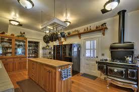 Victorian Kitchen Furniture Modern Victorian Kitchen Dark Island And White Countertop Modern