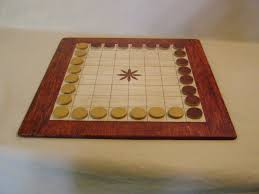 Wooden Board Games Uk A lovely wooden ming mang board with reversible pieces http 80