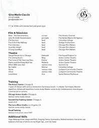 Artist Resume Examples Professional Resume Templates