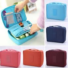 multifunctional cosmetic toiletries storage bag travel makeup organizer pouch 11street msia cleaning tools