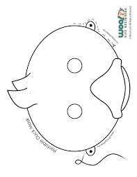 Small Picture Make Way for Ducklings Printable Role Play Mask Coloring Page