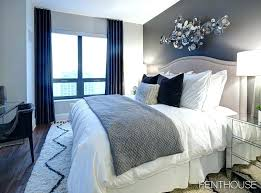 Navy Blue White Bedroom Design And Room Designs Wall Paint ...