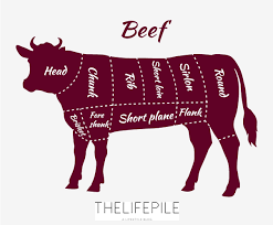 Cow Parts Chart Know Your Beef The Life Pile