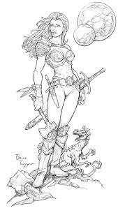 Barbarian beauty by staino on deviantart