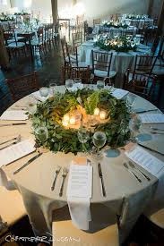 Perfect centerpiece for a round table!