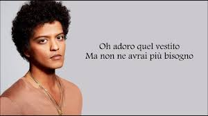 bruno mars versace on the floor traduzione in italiano