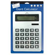 giant office supplies. Just Stationery 210x295mm A4 Giant Calculator: Amazon.co.uk: Computers \u0026 Accessories Office Supplies