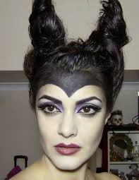 maleficent makeup for