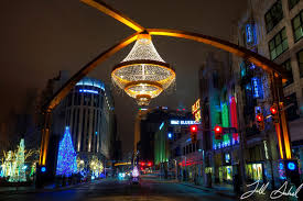 world 39 s largest outdoor chandelier in cleveland oh