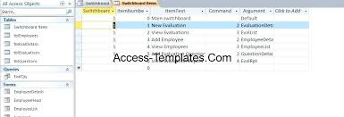 Free Employee Database Template In Excel Employee Database Template