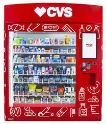 Over The Counter Medication Vending Machine Custom CVS To Deploy Healthandwellness Vending Machines CDR Chain