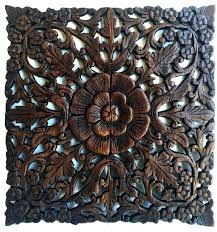 carved wood wall panel carved panel teak carving square hand carved teak panel wall accents carved carved wood wall panel