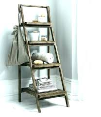 small step ladder decorative stepladder 3 woodcraft recycle wood ladders indoor wooden vintage