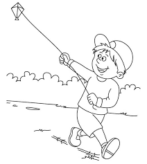 Small Picture Drawing Of Kite Flying Day Image Gallery HCPR