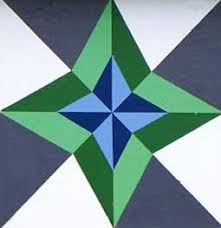 """BARNRAISING QUILT PATTERN 