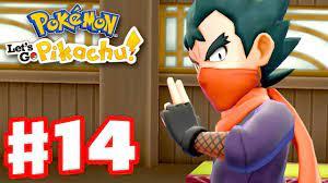Pokemon Let's Go Pikachu and Eevee - Gameplay Walkthrough Part 14 - Gym  Leader Koga! - YouTube