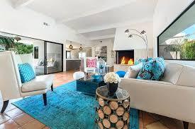 blue rug living room ideas themed modern blue rug