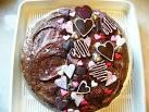 Decorazioni per torta san valentino