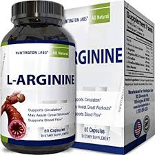 pure l arginine supplement for heart health with amino acid muscle growth workout support exercise