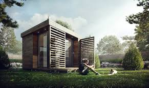 Small Picture 3D Visualization Garden Office Architectural Visualization