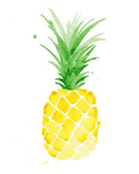 pineapple drawing color. giclee print of one my original watercolors ♥ size: 8 x 10 (appx · pineapple watercolorpineapple artpineapple drawingpineapple drawing color a