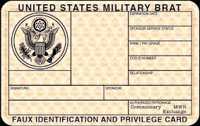 Us Template Free Id Military Card Blank Army