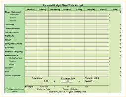 Example Budget Sheet Household Budget Sheet Template And Example Bud Spreadsheet