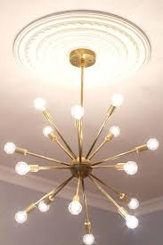 mid century modern chandelier mid century modern round sputnik chandelier by mid century modern chandelier designers