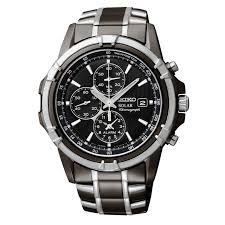 seiko mens black ion finish solar alarm chronograph watch ssc143 seiko mens black ion finish solar alarm chronograph watch ssc143 jewelry watches men s watches