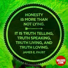 Honesty Is More Than Not Lying It Is Truth Telling Truth Speaking
