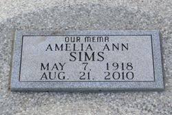 Amelia Ann Green Sims (1918-2010) - Find A Grave Memorial