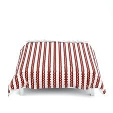 striped duvet covers red and white cover twin