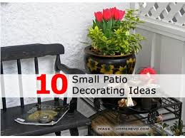 Small Patio Decorating Ideas Trending Styles Today